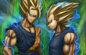 There is one thing a Saiyan always keeps by W-E-Z