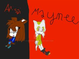 Arisai and Maynee by Uxiethecat