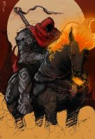 The Red Rider by Fuelreaver