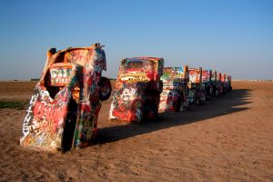 Cadillac Ranch by TrekkieTechie