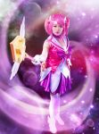 Star Guardian Lux League of legends cosplay by poootine