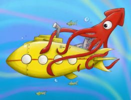 Yellow submarine by my-darkness