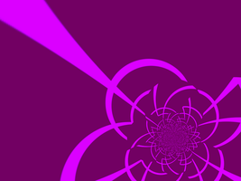 Abstract Flower Wallpaper by Ebony-Rose13