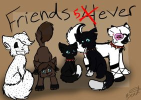 Friends 5ever by BeadFeather