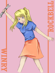 Winry Rockbell by Odd-One-Out