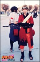 Naruto and Sasuke by onlycyn