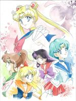 Sailor Moon by JAWart728