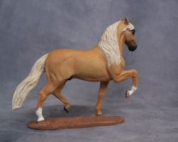 Palomino Lusitano stallion by ymagier