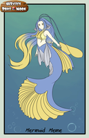Mermaid meme: Prinella by Yufika