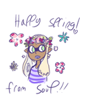 Happy Spring! by YushiBunu
