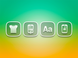 transparent icons by Ashung