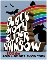 black moth super rainbow by Matt-Mills