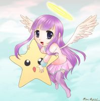 AT: A Little Angel Named Aria by MiraiParasol