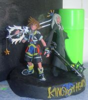 Sora and Riku by Siege-Lightforce