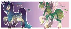 Pony Adopts (CLOSED) by Desiree-U
