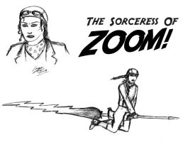 Sorceress Of Zoom remake by CraigOxbrow