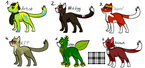 OTA Cat Adoptables OPEN by SparksHumbleAbode