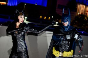 AX13 - Batman and Catwoman by BlizzardTerrak