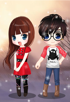 Little Couple Baby Dress Up Games by willbeyou