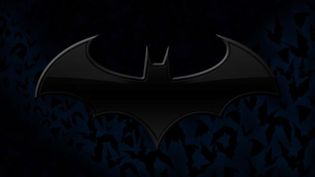 Batman Logo Wallpaper 6.1 by deathonabun