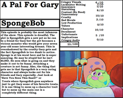 Diary Of Bad Animation - A Pal For Gary by DodsleyCritic