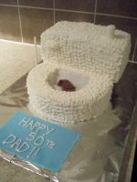 Toilet cake by JD-no7