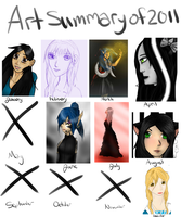 2011 Art Summary by LittleChiChi