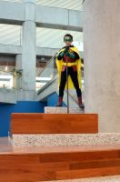 Damian Wayne at Big Wow! 2 by FloresFabrications