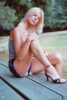 Blonde with Legs by candhphotography