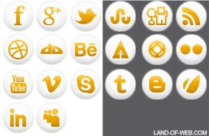 FREE Simple Social Icons by NatalyBirch