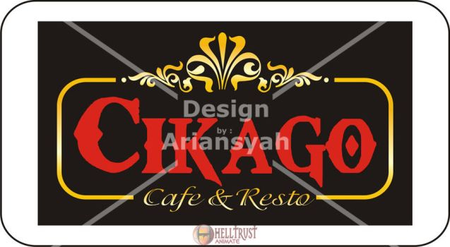cokago  cafe and resto logo by st1666