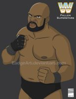 WWE Fallen Superstars: Bad News Brown by EadgeArt