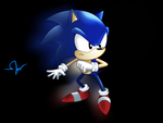 Sonic the Classic Hedgehog by Mike-TA