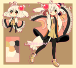 ADOPT flower poromimi [AUCTION] CLOSED* by Hinausa