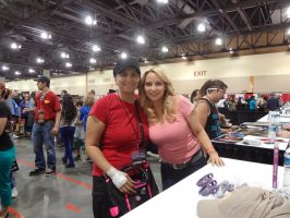 Me and Tara Strong by winxJenny
