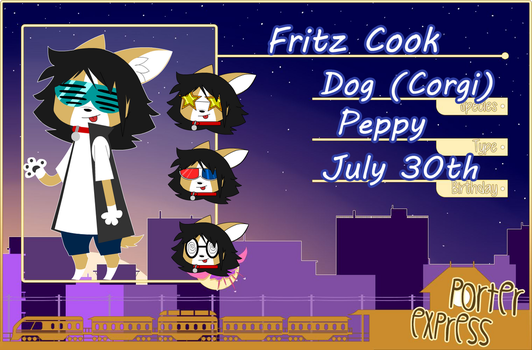Fritz Cook .:PE:. by Blue-Shake