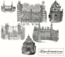 Gates - set 2 by Lileya