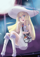 Pokemon- Lillie [Moon Version] by GamefreakDX