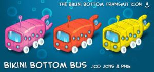 Bikini Bottom Bus by neo014