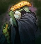 The Pizza Hermit by scrotumnose
