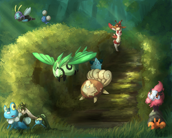 PKMNation: Children of the forest by Yufika