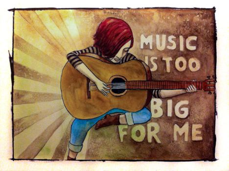 Music is too big by halloumi