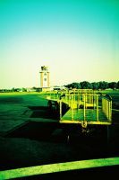 Old Haunted Control Tower by dyspeptic