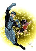 Invincible Kid OmniMan colors by SpiderGuile