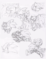 Pictures of you: SA sketches by Moon-Shyne