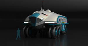 Planetary exploration rover by Esquel