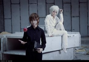 Death Note_Light and N by WinryDeeDee