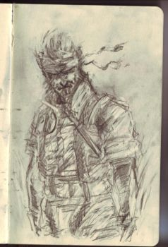 Messy Naked Snake by aestheticartist