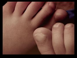 Sweet Little Toes by Morna