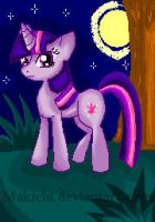 Pixel: Twilight Sparkle by Makichi